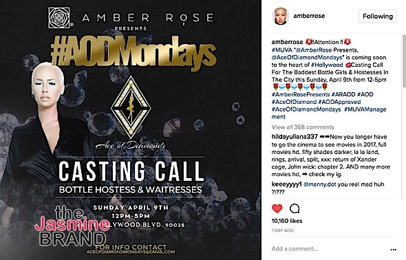 Amber Rose May Lose 'Ace of Diamonds' Strip Club
