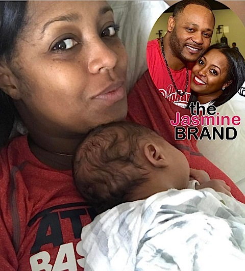 (EXCLUSIVE) Keshia Knight-Pulliam Fears For Newborn's Safety With Ed Hartwell: He Takes OxyContin & Anti-Depressants!