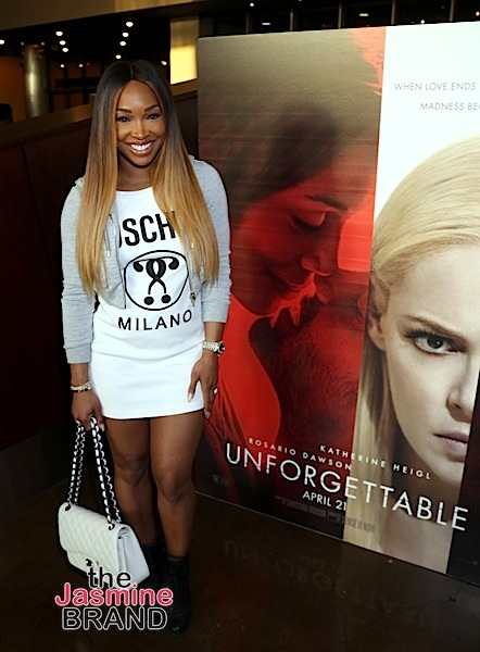"""Unforgettable"" Screening: Malika Haqq Host Girl's Night ... Love And Hip Hop Hollywood Apryl"