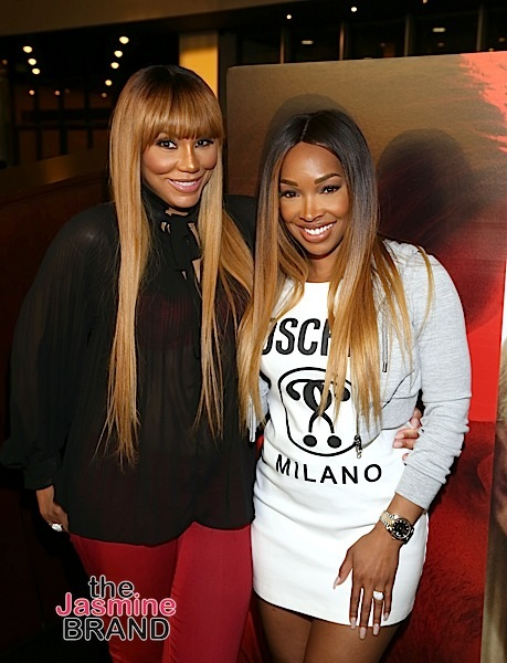 """Unforgettable"" Screening: Malika Haaq Host Girl's Night Out With Tamar Braxton, Apryl Jones"