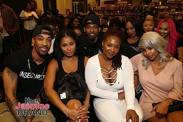Reality Star Hazel-E Book Signing: Torrei Hart, Alexis Skyy, Althea Heart, Marcus Paulk