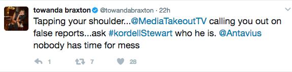 Towanda Braxton Denies Saying Tamar Lied About Miscarriage, Threatens Lawsuit