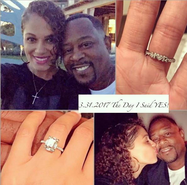 Martin Lawrence Proposed With $500,000 Engagement Ring! [VIDEO]