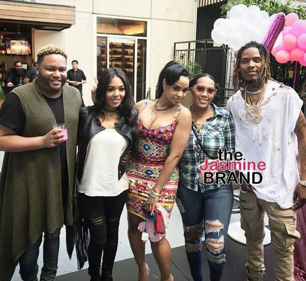 Fetty Wap & Masika Kalysha Celebrate Daughter's 1st B-Day