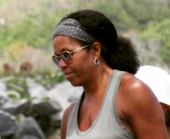 Michelle Obama Rocks Natural Hair [Photo]
