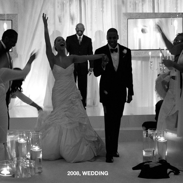 Beyonce & Jay Z Celebrate 9 Year Wedding Anniversary