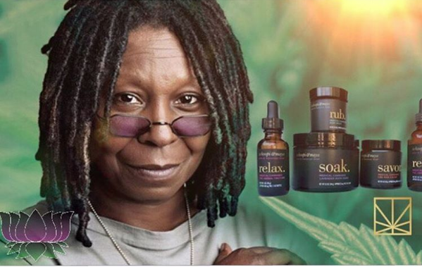 Whoopi Goldberg's New Marijuana Line Now Available, Only In California