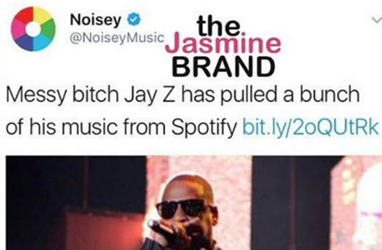 Jay Z Called A 'Messy B*tch' By Media Outlet