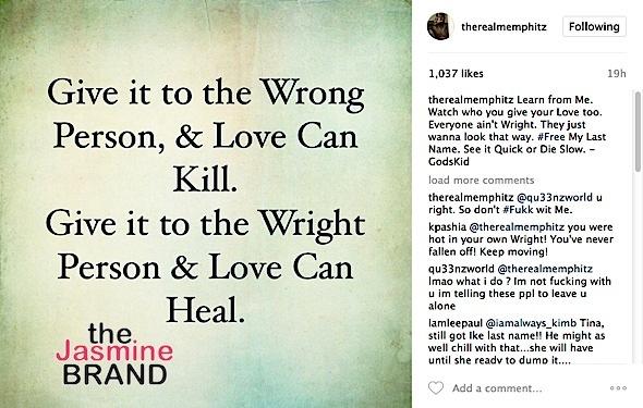 Toya Wright's Ex Husband Memphitz Wants His Last Name Back