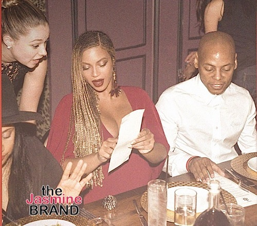 Beyonce Celebrates Roc Nation Exec's B-Day [Spotted. Stalked. Scene.]