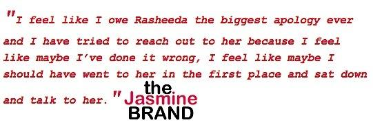 Rasheeda: I'm not paying child support to Kirk's mistress!