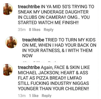 Pepa Called Press Whore By Ex Husband Treach: You f*ck men younger than your kids!
