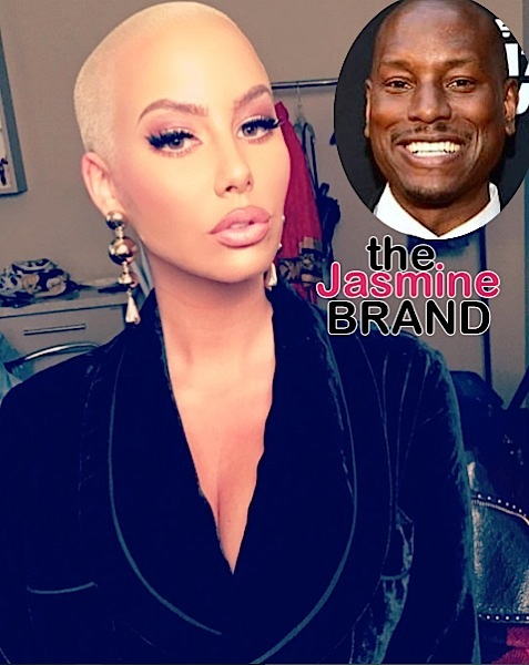 Amber Rose To Tyrese: My p*ssy, my choice!