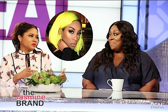 K.Michelle Trashes Loni Love & Angela Yee: Keep my name out of your mouth!