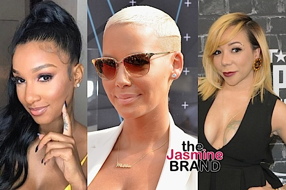 Amber Rose Defends Bernice Burgos: Tiny should call her.