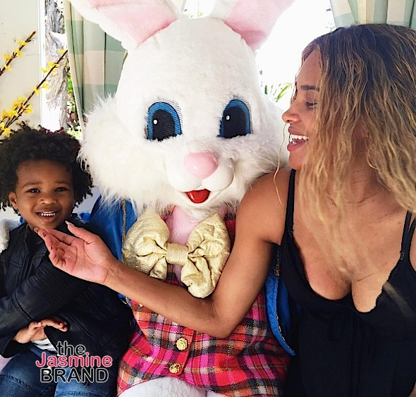 Debbie Allen, Quincy Jones & Naomi Harris Hit Red Carpet + Baby Future & Baby Luna's Easter Bunny Flix!