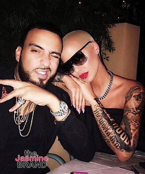 Amber Rose: I'm NOT dating French Montana! + Shuts Down Crazy Rumor About Exes