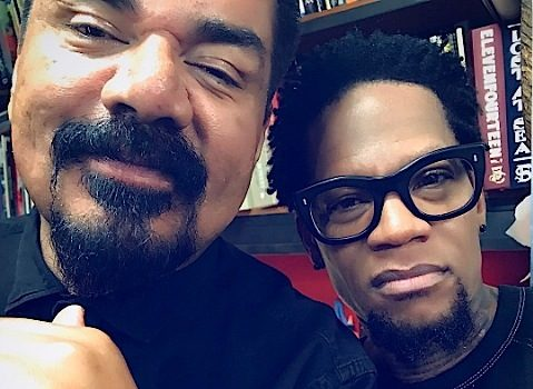 DL Hughley & George Lopez Get Charlie Murphy Tattoos [Photos]