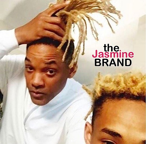 Jaden Smith Chops Blonde Locks For New Movie, Will Smith Celebrates