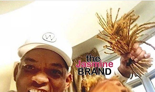 Jaden Smith Chops Blonde Locks For New Movie, Will Smith Celebrates