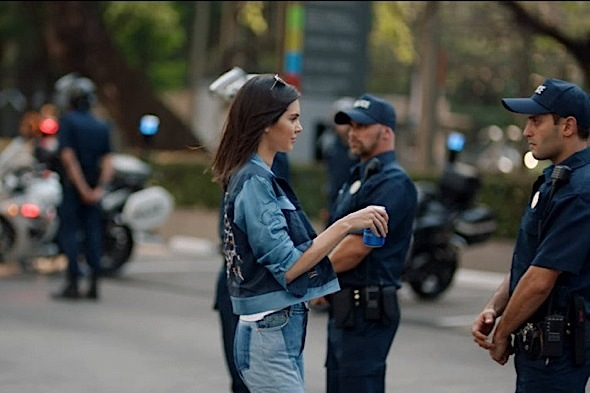 Kendall Jenner Pepsi Ad Trashed For Insensitivity & Appropriating Black Lives Matter Moment