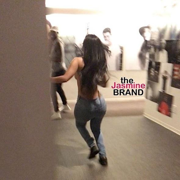 K.Michelle Goes Topless, Celebrating New Single