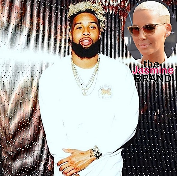 Amber Rose Is 150 % Sure Odell Beckham Is NOT Gay