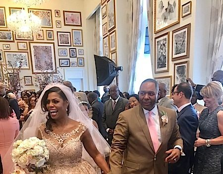 Omarosa Gets Married: Phaedra Parks, Charrisse Jackson-Jordan, Paul Wharton Attend [Photos]