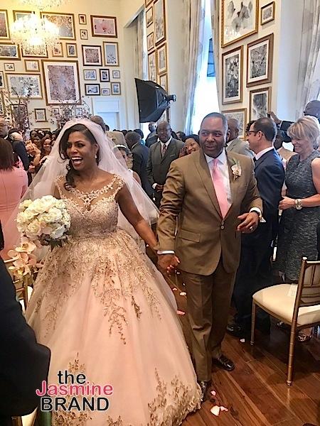Omarasa Marries Pastor John Newman: Phaedra Parks, Charrisse Jackson-Jordan, Paul Wharton Attend