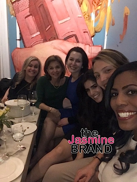 Omarosa Celebrates White House Bridal Shower