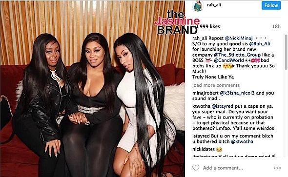 Rah Ali Defends Friendship With Nicki Minaj