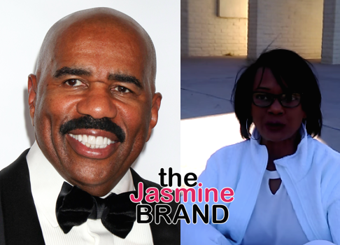(EXCLUSIVE) Steve Harvey Responds To Ex Wife's Lawsuit