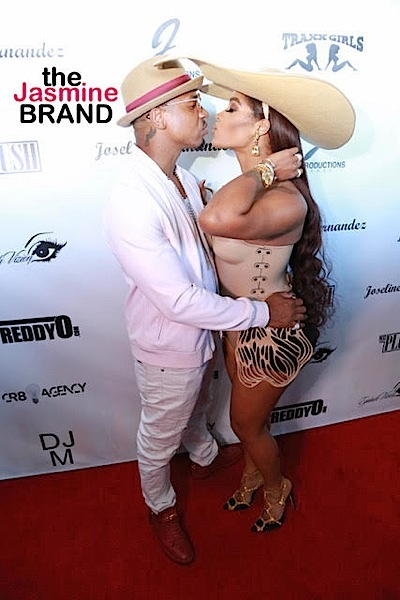 Stevie J & Joseline Kiss & Make-Up, Literally! Party At Goldroom [Photos]