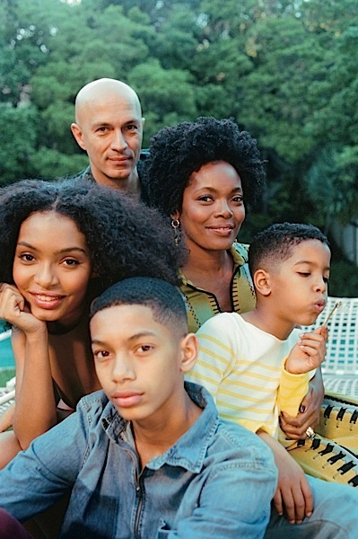 Yara Shahidi's Family Stuns In New Shoot [Photos]