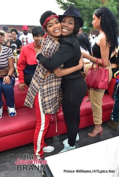 Teyana Taylor & Her Gorge Mom Party In ALT [Spotted. Stalked. Scene.]