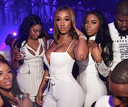 Meek Mill, Toya Wright, 2 Chainz, Fabolous, Bernice Burgos, Monyetta Shaw Party in ATL [Photos]