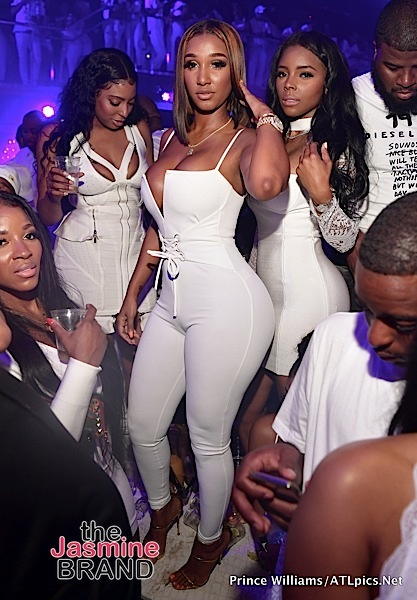 Meek Mill, Toya Wright, 2 Chainz, Fabolous, Bernice Burgos, Monyetta Shaw Party in ATL