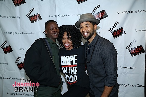 "Wendy Raquel Robinson, Jussie Smollett Celebrate 'Hope In The Hood'+ Jurnee Smollett-Bell At ""Underground"" Screening w/ Aisha Hinds"