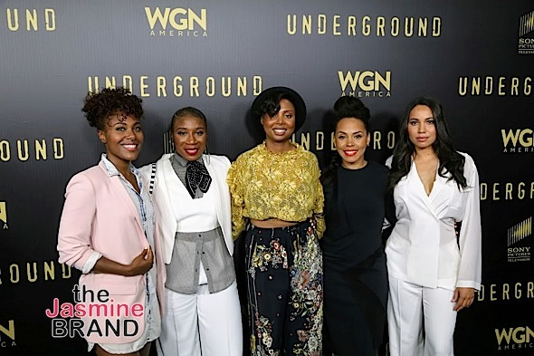 "Wendy Raquel Robinson Celebrates 'Hope In The Hood', Jurnee Smollett-Bell Hits ""Underground"" Screening + Aisha Hinds, Jussie Smollett, RaVaughn Brown"