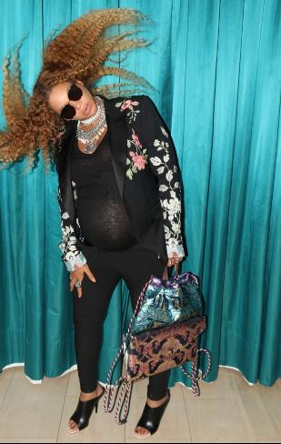 Beyonce's Ready To Pop! [Pregnancy Cuteness]