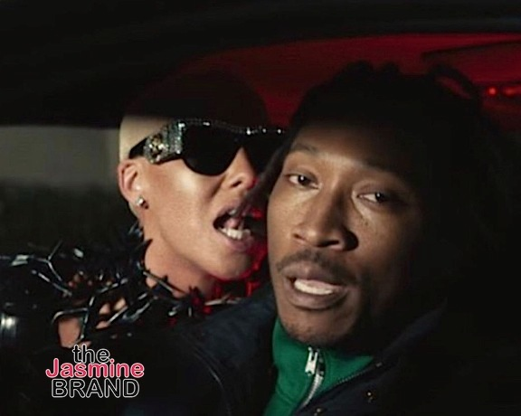 "Amber Rose Stars In Future's ""Mask Off"" Video"