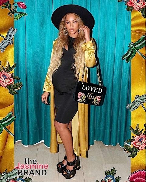 Beyonce Rocks Gucci, Stella McCartney & Pregnancy Glow [Photos]