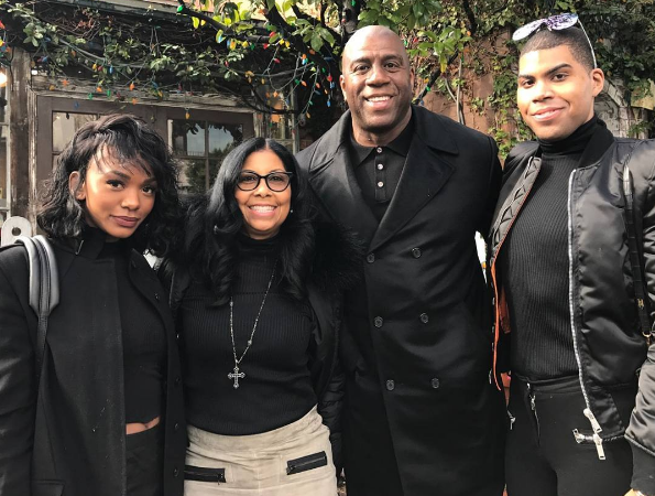 Magic Johnson's Son: No one in my family has AIDS!