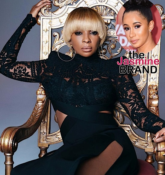 Reality Star Cardi B Snags 2 BET Noms + Mary J. Blige Announces Tour