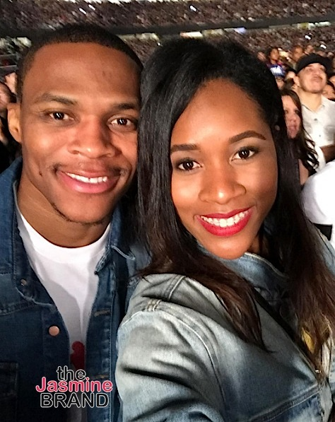 NBA Baller Russell Westbrook & Wife Nina Welcome 1st Child