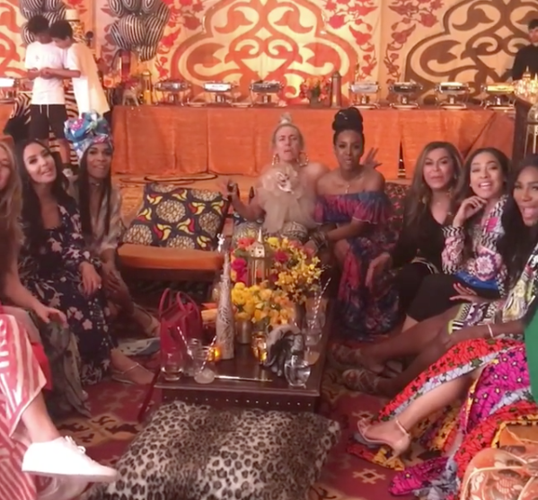 Beyonce Celebrates Push Party With Tina Lawson, Kelly Rowland, Lala [VIDEO]