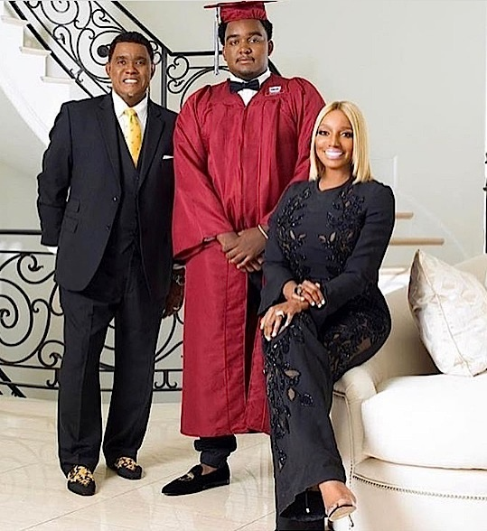 Nene Leakes, Lil Wayne & Toya Wright Celebrate Kids Graduation