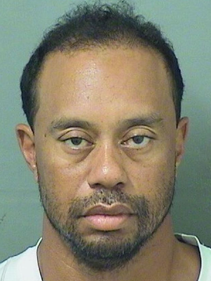 Tiger Woods Arrested on Suspicion of DUI [Mug Shot]