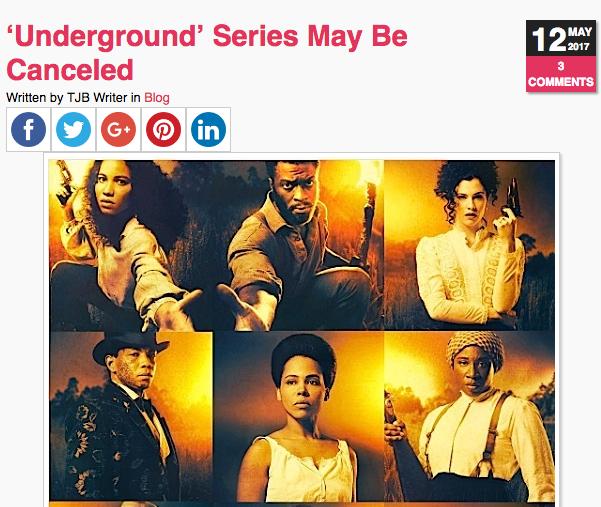 """Underground"" Canceled, OWN & BET Decline To Pick Up Show"