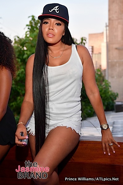 Angela Simmons & Jim Jones Party in ATL [Spotted. Stalked. Scene.]